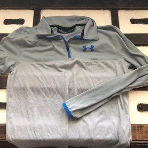 Under armour grey shirt
